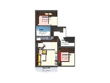 Apartamente – 3 camere
